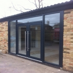 Bi-Folding Door in Amport 3