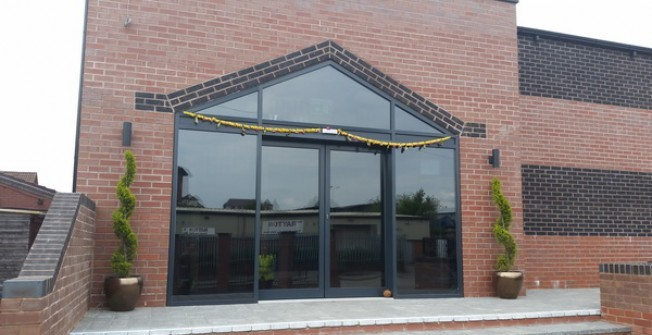 Folding Glass Doors in Abbot's Salford